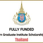 Chulabhorn Graduate Institute Scholarship Program