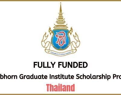 Chulabhorn Graduate Institute Scholarship Program