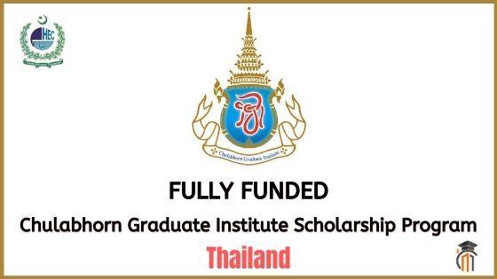 Chulabhorn Graduate Institute Scholarship Program 2021 ...