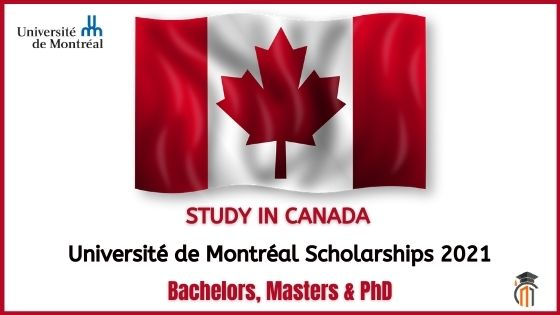 University of Montreal Scholarships 2021