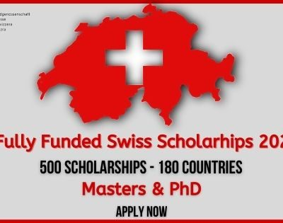 Swiss Government Scholarships 2021