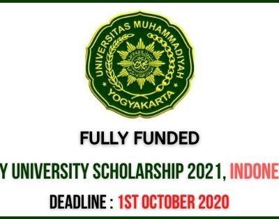 UMY University Scholarship 2021
