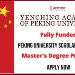 Peking University Scholarship 2021