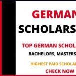 List of Top German Scholarships 2021