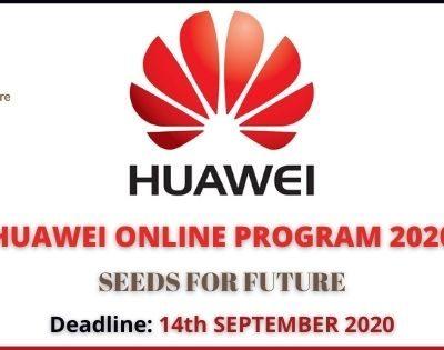 Huawei Online Programme 2020