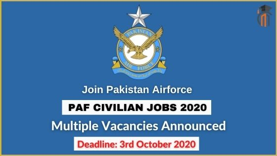 Join PAF as Civilian 2020