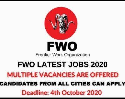 FWO Jobs 2020